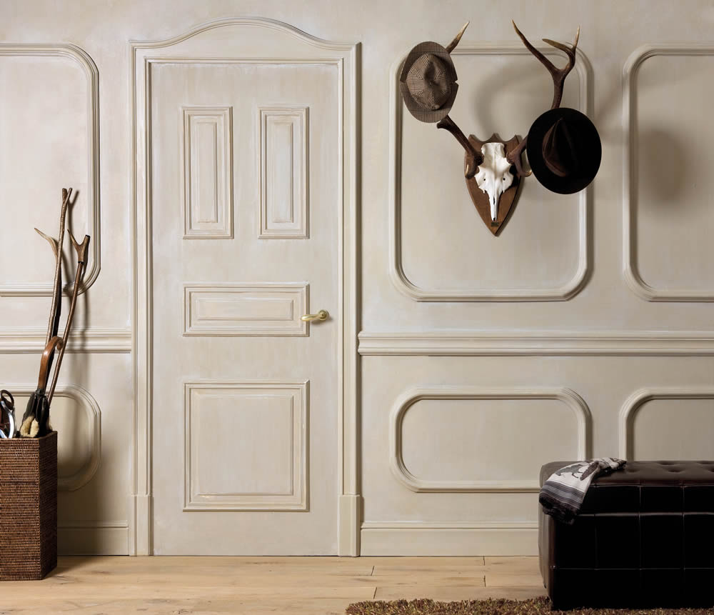 home  Faking it: Door and Wall Moulding