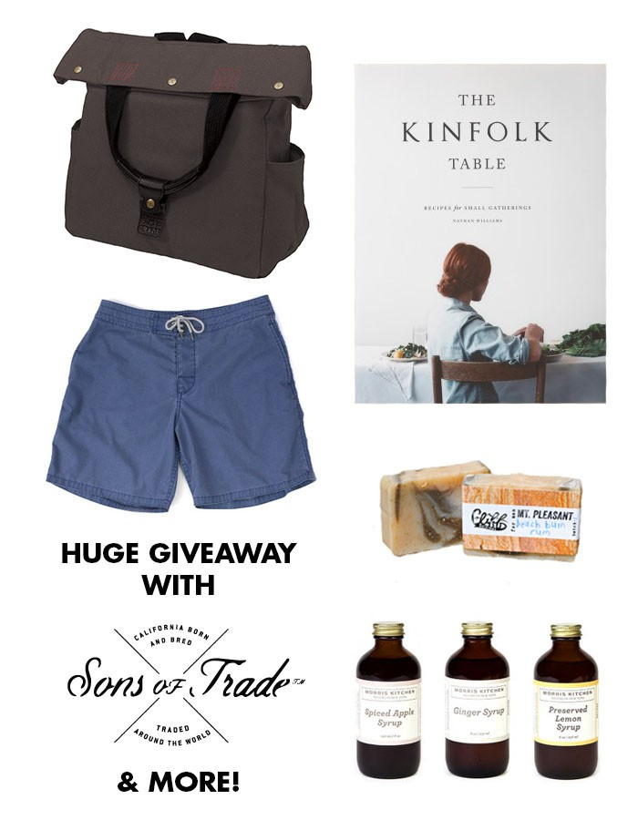 style  Huge giveaway with Sons of Trade ... and more!