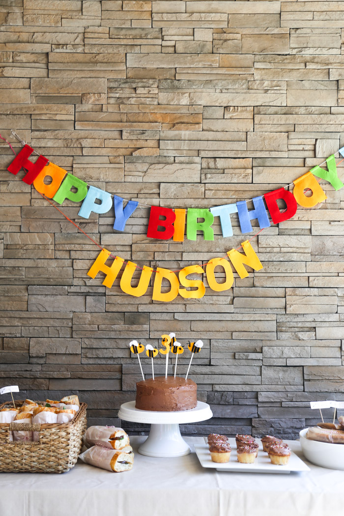 uncategorized family  Hudsons 3rd Birthday Party