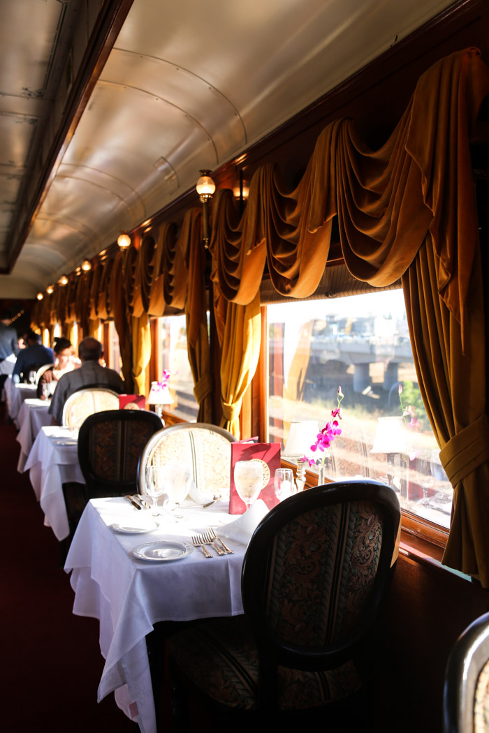 travel california  Date Night: the Napa Wine Train