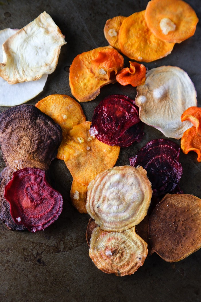 food drink  Baked Vegetable Chips