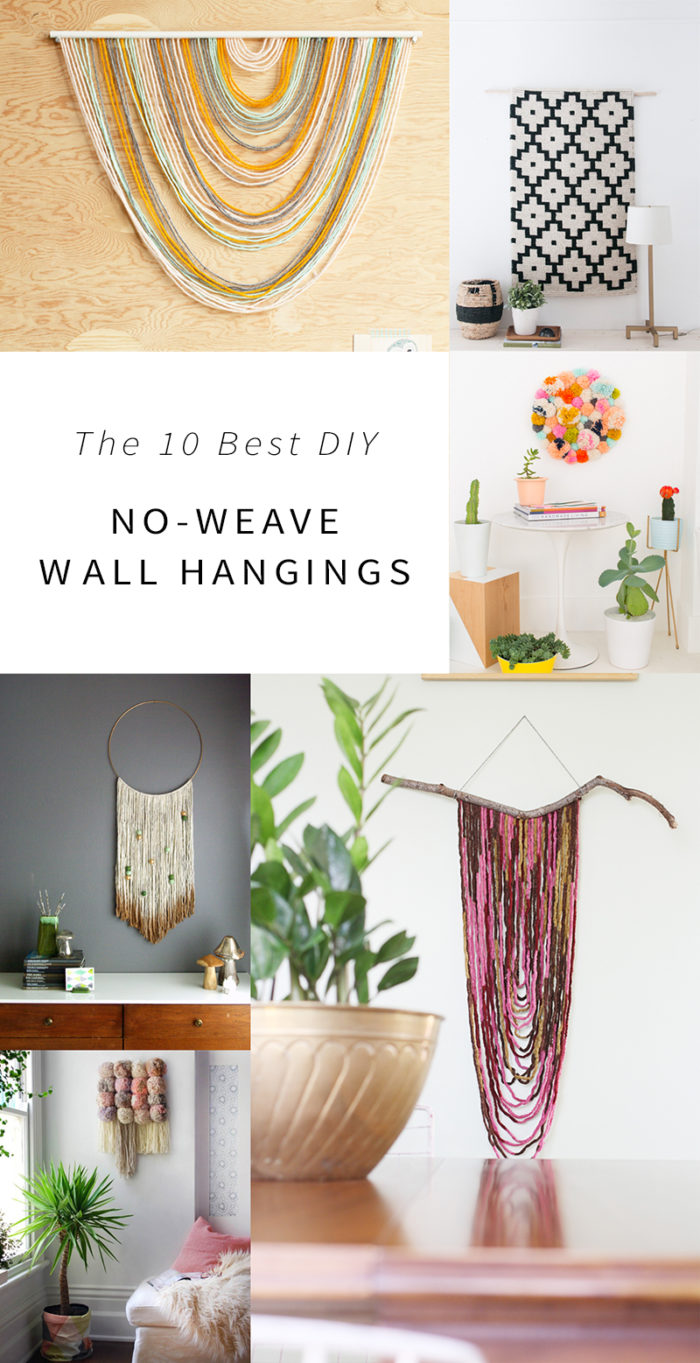 No Weave Wall Hangings