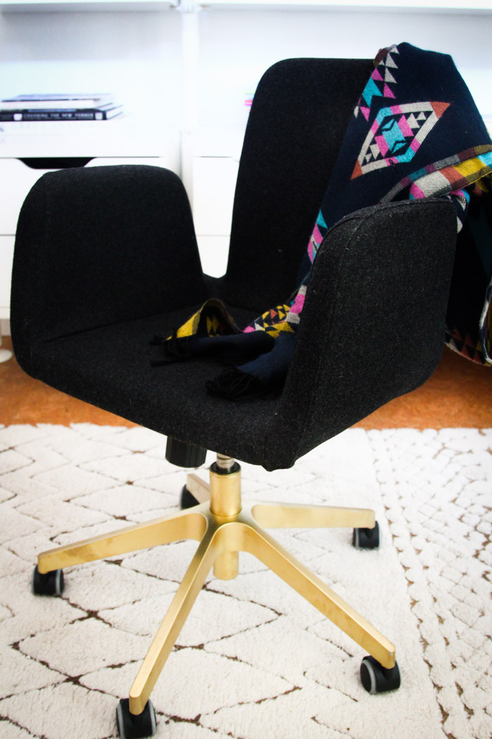 Quick Ikea Office Chair Hack